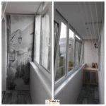 Балкон внутренняя обшивка
