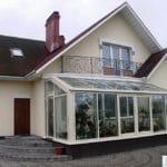 Алюминиевые раздвижные окна 3