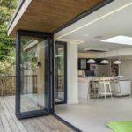 Гармошка раздвижные алюминиевые окна цена